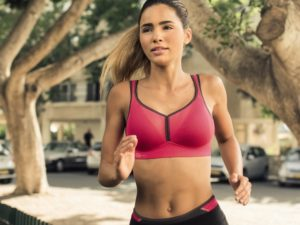 Uplift Intimate Apparel Red Sport Bra Photo