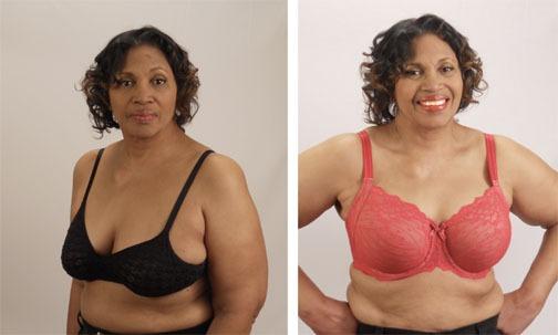 Uplift-Side by side bra comparison